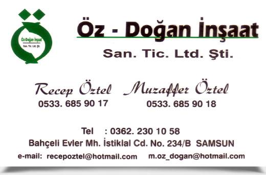 ÖZ - DOĞAN İNŞAAT San. Tic. Ltd. Şti.