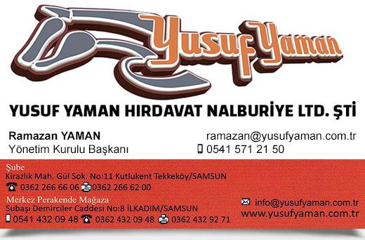 YUSUF YAMAN HIRDAVAT NALBUR�YE LTD. �T�.