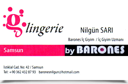 BY BARONES Glingerie