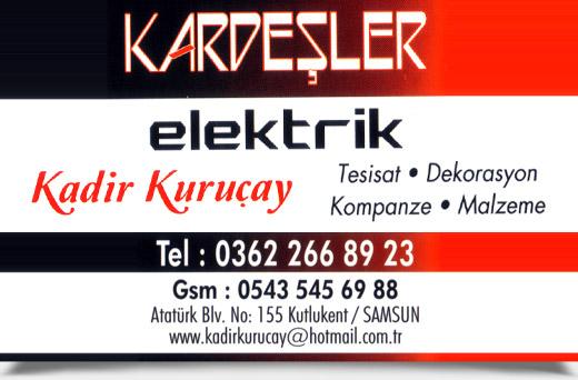 KARDE�LER ELEKTR�K