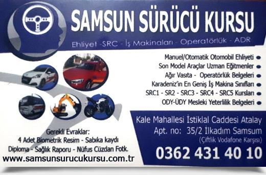 SAMSUN S�R�C� KURSU