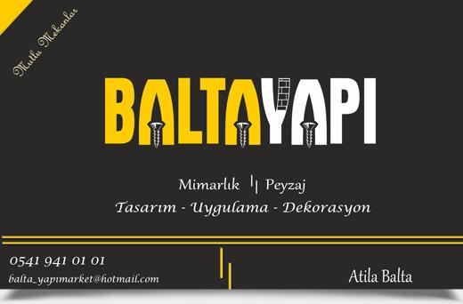BALTA YAPI, M�MARLIK - PEYZAJ - TASARIM - UYGULAMA - DEKORASYON