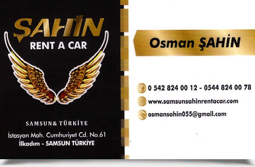 ŞAHİN RENT A CAR