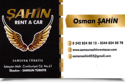 ŞAHİN RENT A CAR