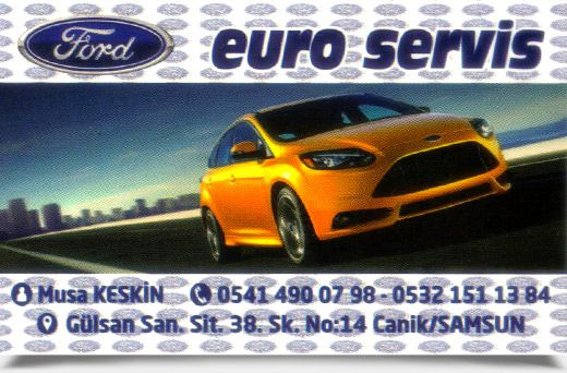 FORD EURO SERVİS