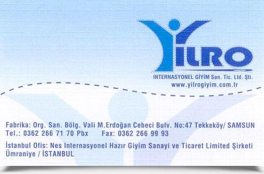 YILRO INTERNASYONEL G�Y�M SAN. T�C. LTD. �T�.