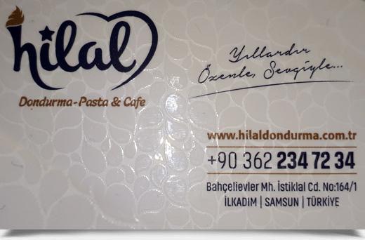 HİLAL DONDURMA PASTA CAFE
