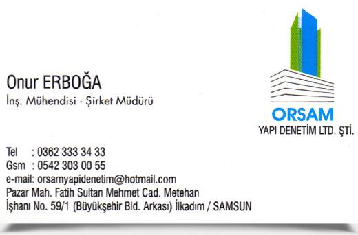 ORSAM YAPI DENETİM LTD. ŞTİ.