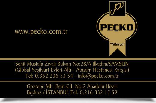 PEÇKO UNLU MAMULLERİ
