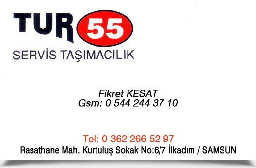 TUR55 SERVİS TAŞIMACILIK