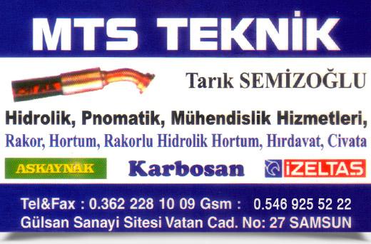 MTS TEKN�K, H�DROL�K PNOMAT�K M�HEND�SL�K H�ZMETLER�
